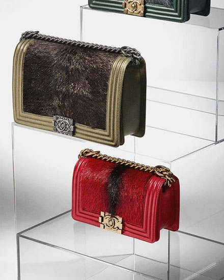 Chanel handbags FW15