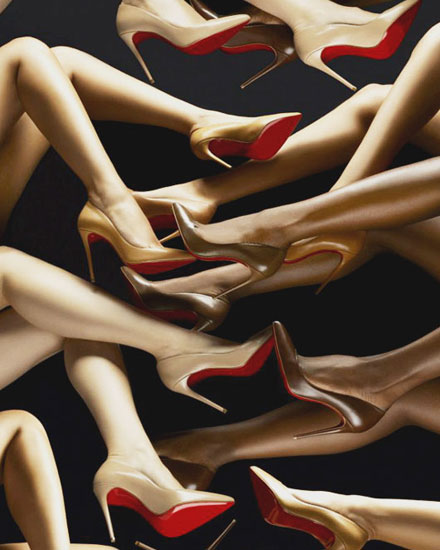 christian louboutin nude collection