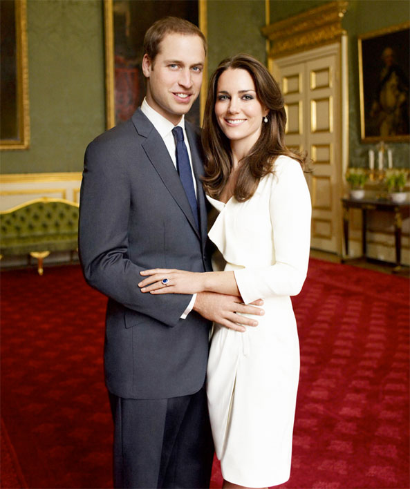 Royal Engagement Portrait