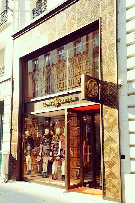 tory burch flagship store in paris
