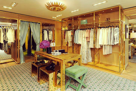 Tory Burch Flagship Store in Paris Ready to Wear Collection Level