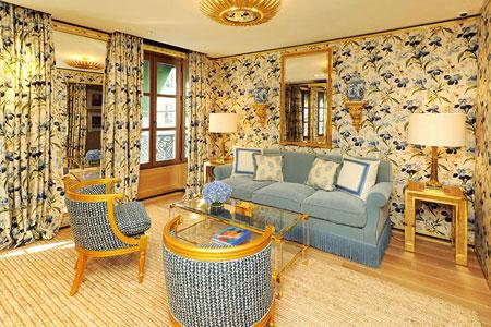 Tory Burch Paris Flagship Store VIP Lounge