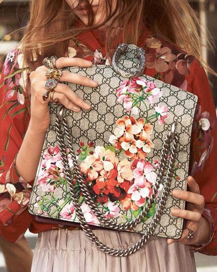 Gucci Dionysus floral bags