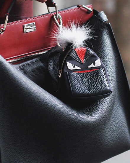designer bag charms