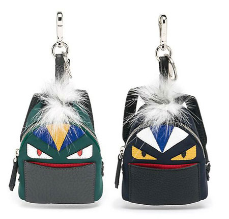 fendi monster charms