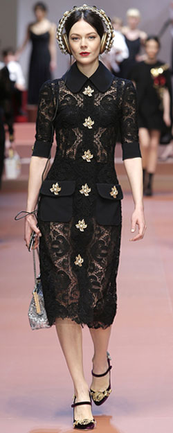 Dolce & Gabbana runway collection