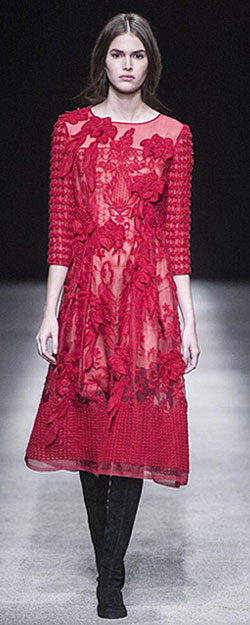 Alberta Ferretti runway collection