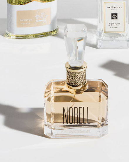 Norell x baccarat perfume
