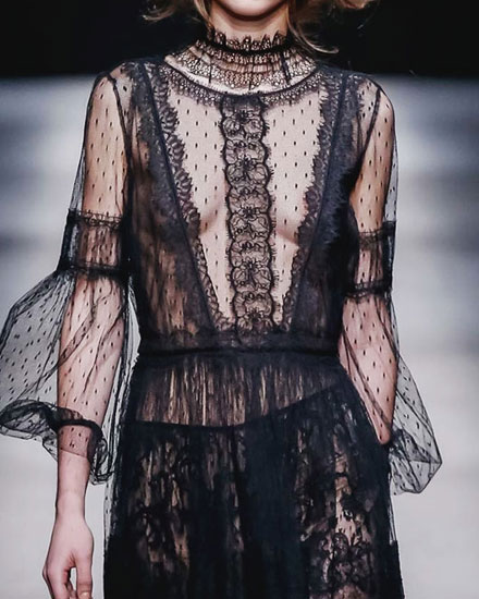 runway style report fw15 delicate lace