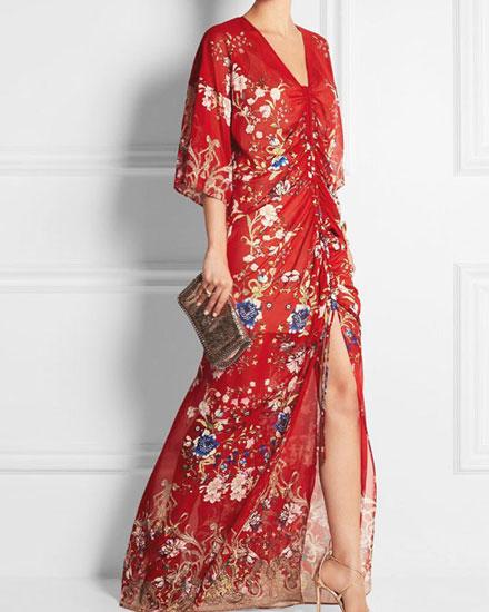 summer chiffon gowns