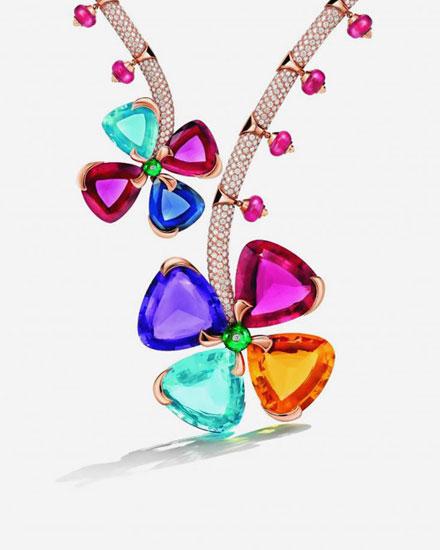 Bulgari Italian garden fine jewelry collection
