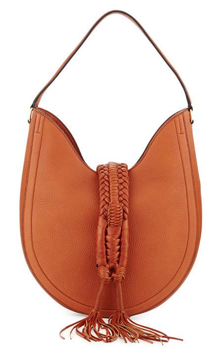 Altuzarra Ghianda Woven Leather Hobo Bag