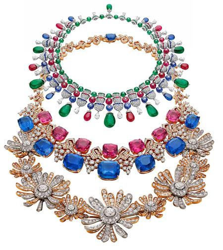 bulgari italian gardens necklaces