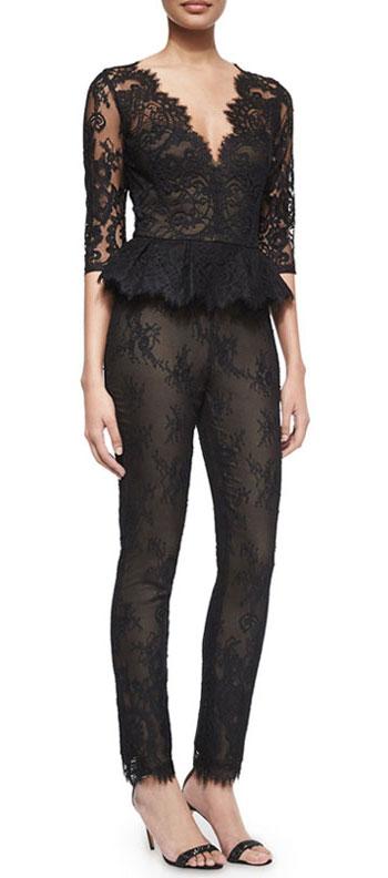 Marchesa Notte jumpsuit