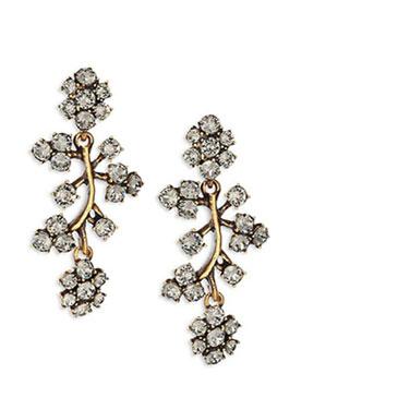 Oscar de la Renta earrings