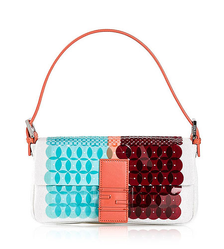 Fendi Multicoloured leather Baguette