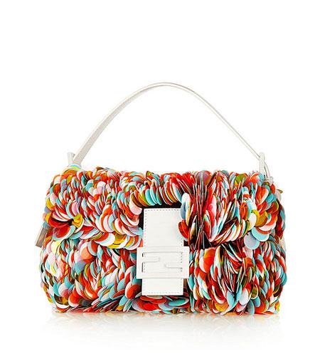 Fendi Paillette-embellished Baguette