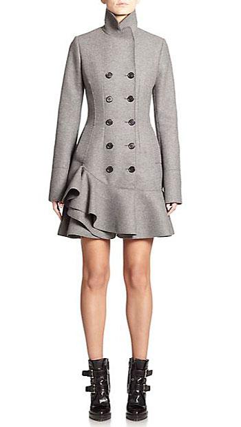 Alexander McQueen coats