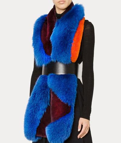 Roksanda fur scarf