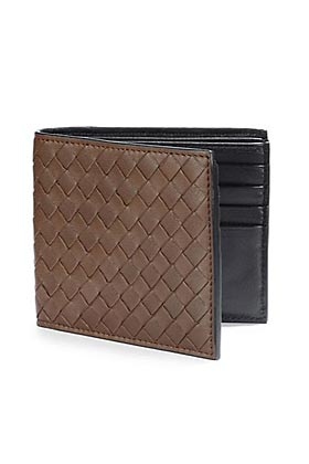 Bottega Veneta Basic Woven Wallet