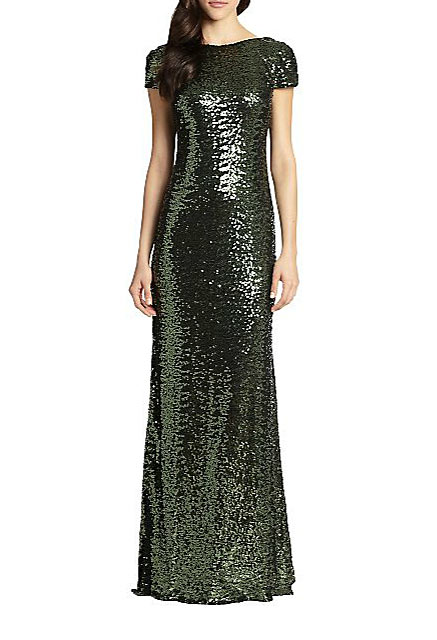 Badgley-Mischka-Sequined-Cowl-Back-Gown