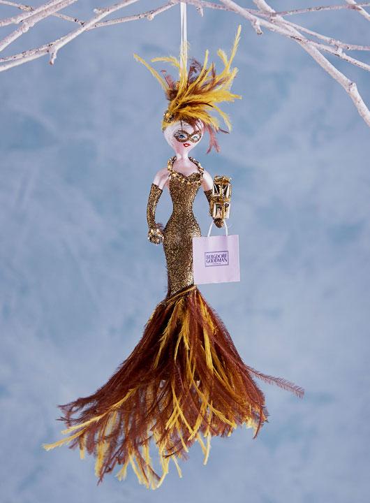 Christmas tree ornaments for fashion girls