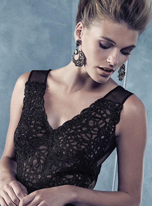 Designer drop earrings