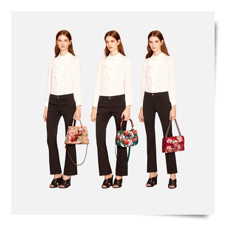 Gucci Bamboo Bloom Handbags Resort 2016 Collection