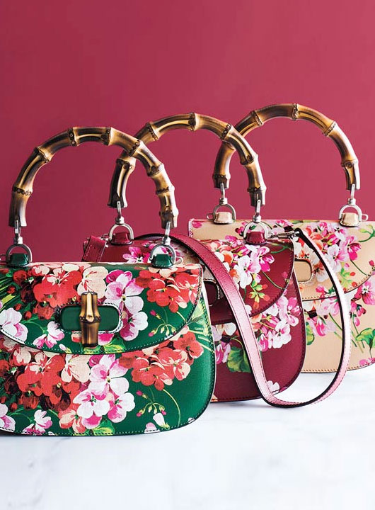 Gucci bamboo bloom bags