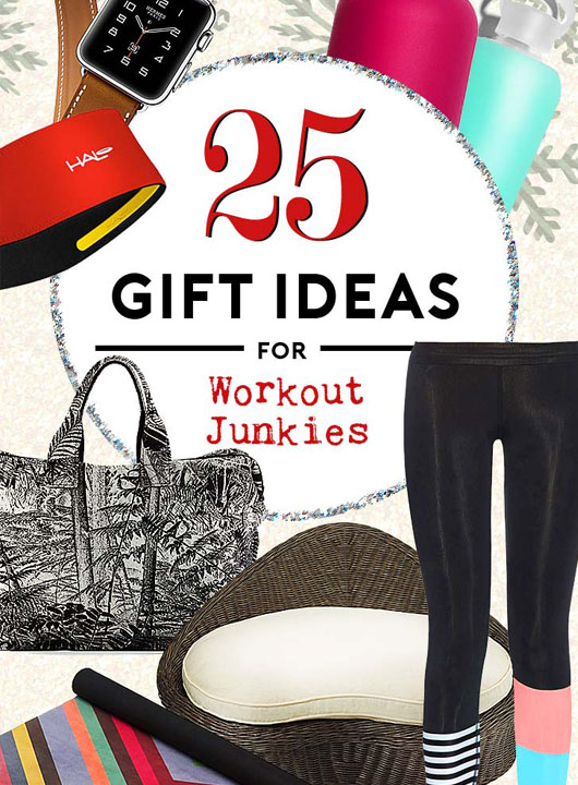 holiday gifts for workout junkies
