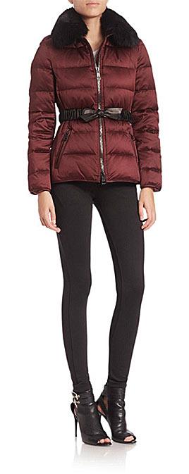 burberry puffer coat jacket