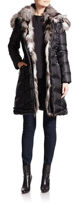 Dawn Levy puffer jackets and coats
