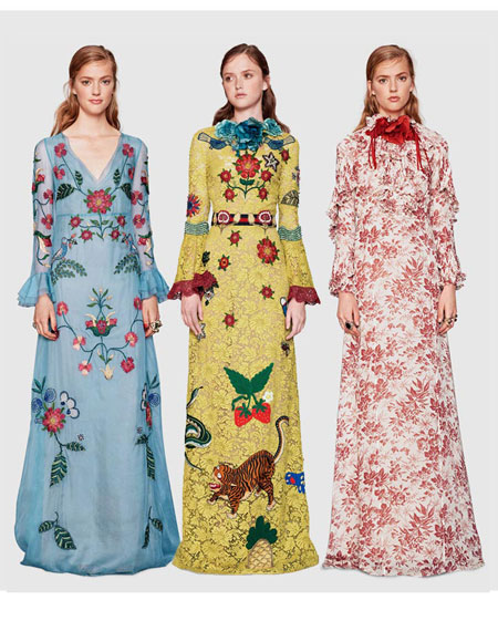 Gucci Floral 2016 Resort Collection