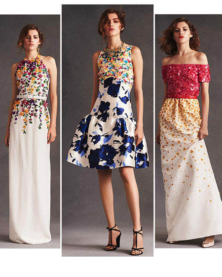Oscar de la Renta Floral 2016 Resort Collection
