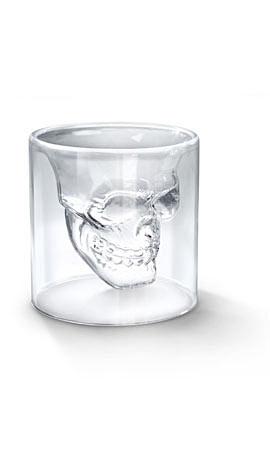 Fred & Friends DOOMED Crystal Skull Shotglass
