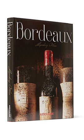 Assouline Bordeaux Legendary Wines Hardcover Book
