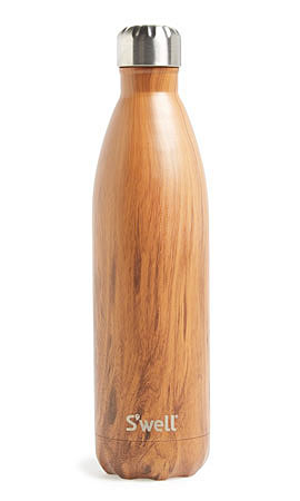 S'well Wood Collection Stainless Steel Water Bottle