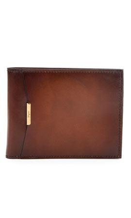 Salvatore Ferragamo Limited Edition Tramezza Bifold Wallet