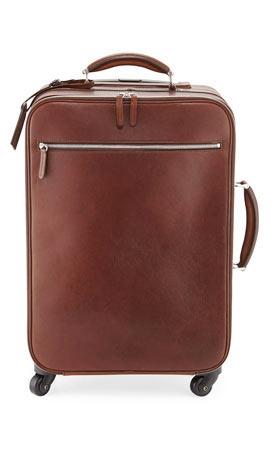 Brunello Cucinelli Leather Trolley Bag