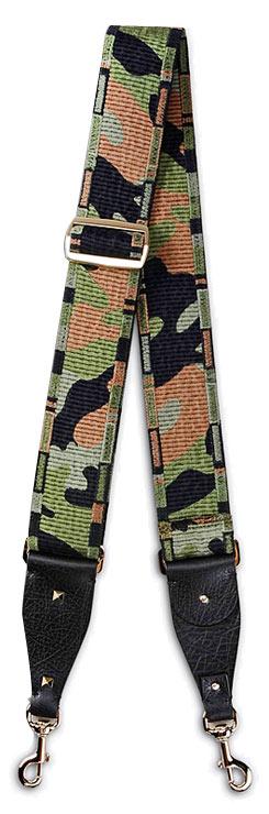 Valentino camouflage bag strap
