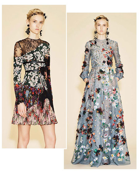 Valentino Floral 2016 Resort Collection