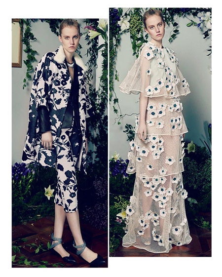 Vionnet Floral 2016 Resort Collection