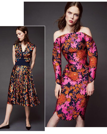 Zac Posen Floral 2016 Resort Collection