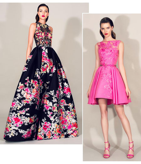 Zuhair Murad Floral 2016 Resort Collection