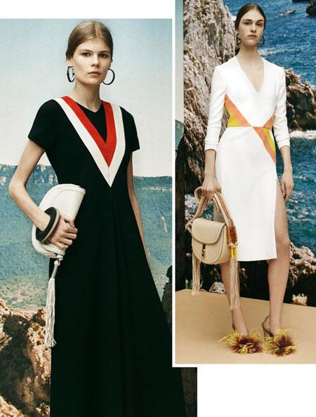 altuzarra stripes resort 2016 collection trend