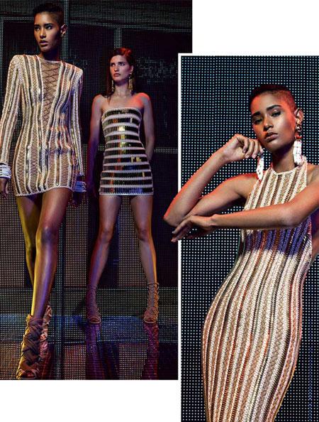balmain stripes 2016 resort collection