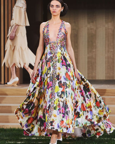 LOVIKA | Chanel Spring Haute Couture dresses and gowns