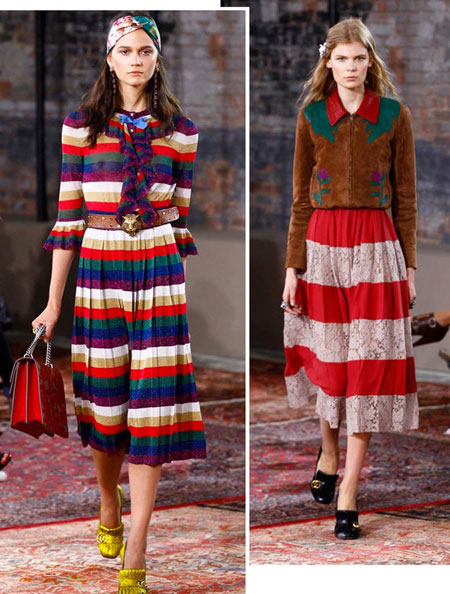 gucci stripes resort 2016 collection
