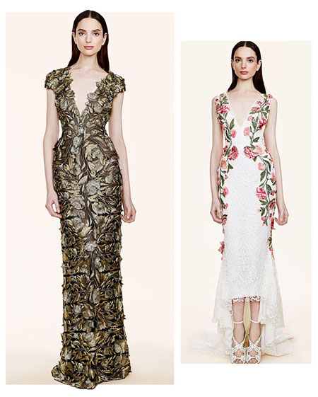 Marchesa Floral 2016 Resort Collection