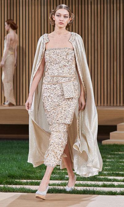 Chanel Haute Couture 2016 Spring Summer Runway Gigi Hadid